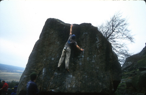 Extreme Rock - Stanage, Ginger no.3
