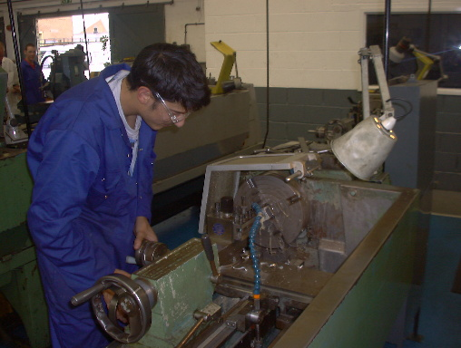 Cas on the lathe